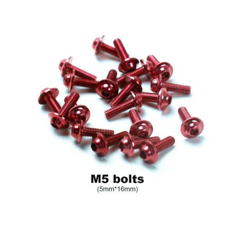 anodize  Fairing Bolt Kit Bodywork Screws For MV AGUSTA Brutale 800 675 910 1090