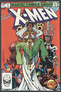 X-Men-King-Size-Annual-6-VF-NM-Claremont-Vampire-Storm-Marvel-Comics-1982-SA
