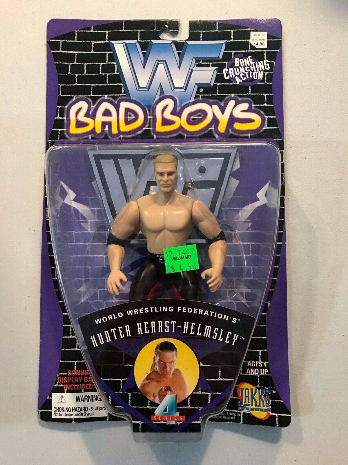 WWF WWE Bad Boys Set of 6 Figures Figures Figures 1997 Vader HHH Austin Lawler Faarooq Bradshaw 379eb2