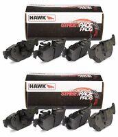 Hawk 97-13 Chevrolet Chevy Corvette C5 C6 Front And Rear Brake Pads Street Race