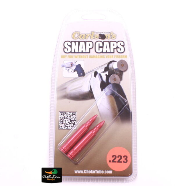 00050 Carlson Snap Caps .223 2 Pack for sale online