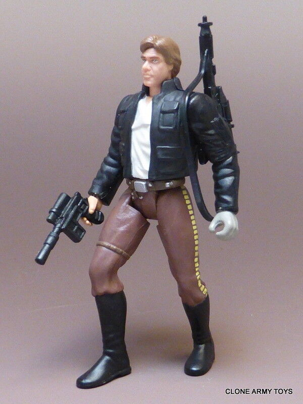STAR WARS Han Solo POWER OF THE FORCE COLLECTION POTF2 ERROR UNPAINTED HAND