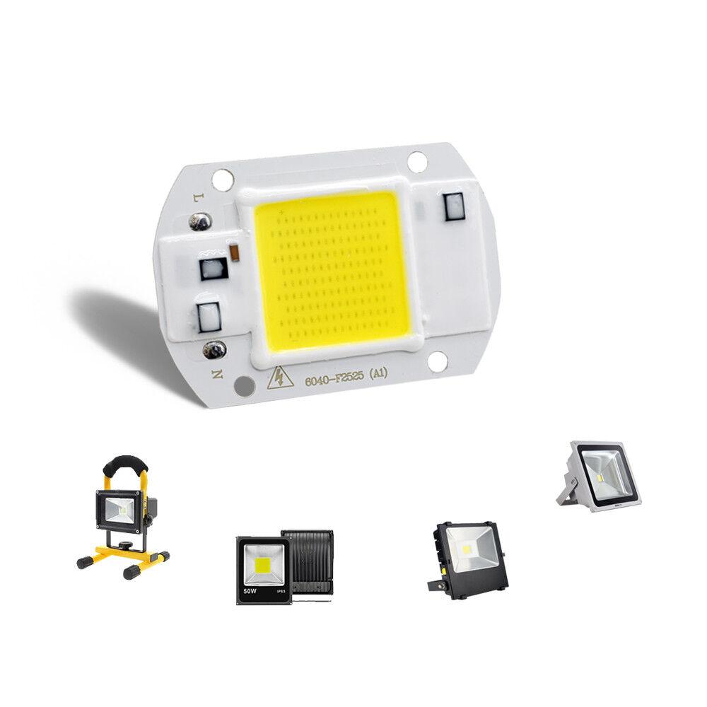 High Power COB LED Chip 20W 30W 50W Warmweiß LED DIY Flutlicht Scheinwerfer 220V 8
