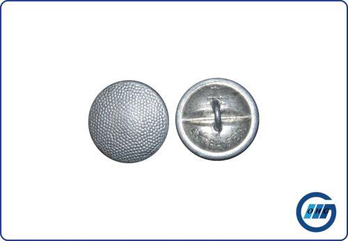 Uniformknopf Polizei Knopf silber mit gekörnter Oberfläche 20,5mm