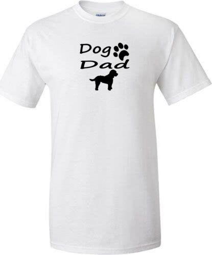 cockapoo dad grandad mum or grandma dog walking t shirt