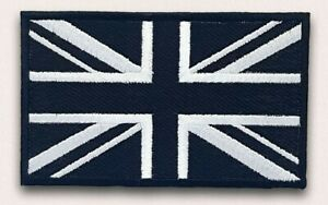 Union-Jack-Black-Flag-Embroidery-Sew-On-Iron-On-Patch-Badge-FREE-UK-POST