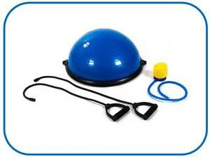 Bosu balanced trainer ball pelota de Gimnasia Pilates-Yoga