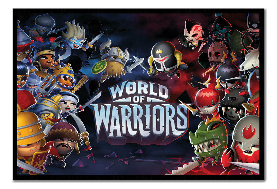 World Of Warriors Framed Cork Pin Memo Board With Pins