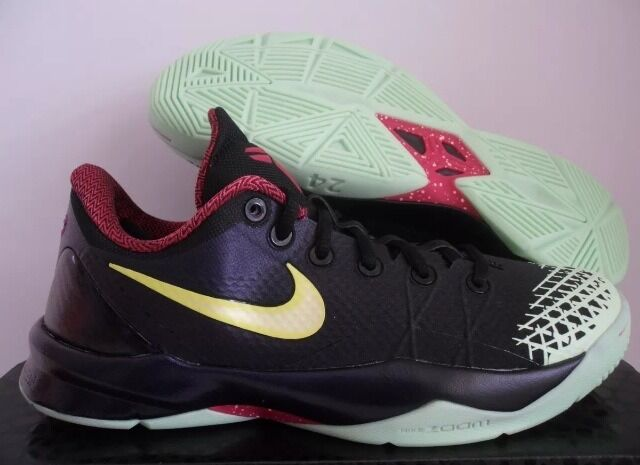 NIKE BLACK-LEMON ZOOM KOBE VENOMENON 4 BLACK-LEMON NIKE GLOW IN THE DARK SZ 11 [635578-003] 2d2bc0