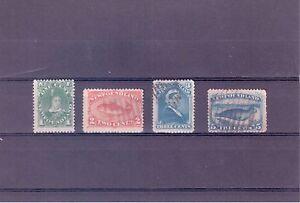 Newfoundland Scott #s 45, 48, 49 & 54 Stamps FVF-HR