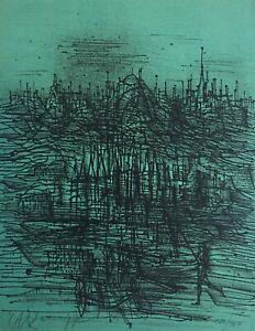 Jean CARZOU - Lithographie originale signée et numérotée - 1977