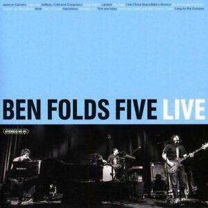 Ben-Folds-Five-Live-New-amp-Sealed-CD