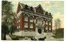 Jersey City NJ - SCOTTISH RITES TEMPLE ON PARK STREET - Postcard