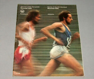 Original-1976-Montreal-Olympic-Official-Athletics-Program