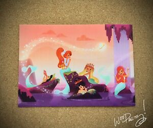 2014-Liana-Hee-MERMAID-LAGOON-Peter-Pan-Neverland-Wonderground-Art-Postcard