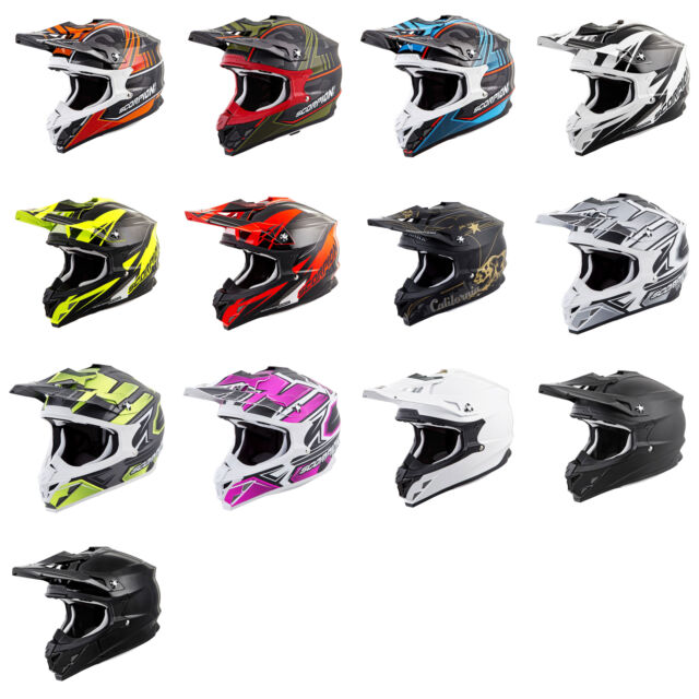 2019 Scorpion VX-35 Offroad Dirt Bike Motocross Helmet - Pick Size & Color