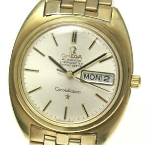OMEGA-Constellation-cal-751-Chronometer-Silver-Dial-Automatic-Men-039-s-Watch-535050