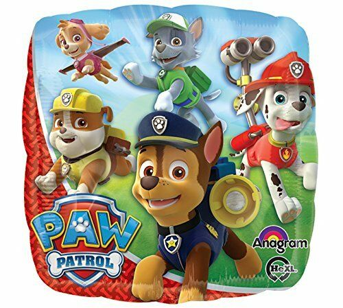 """17/"""" Nickelodeon Paw Patrol Mylar Foil Balloon Party Decorating Supplies"""