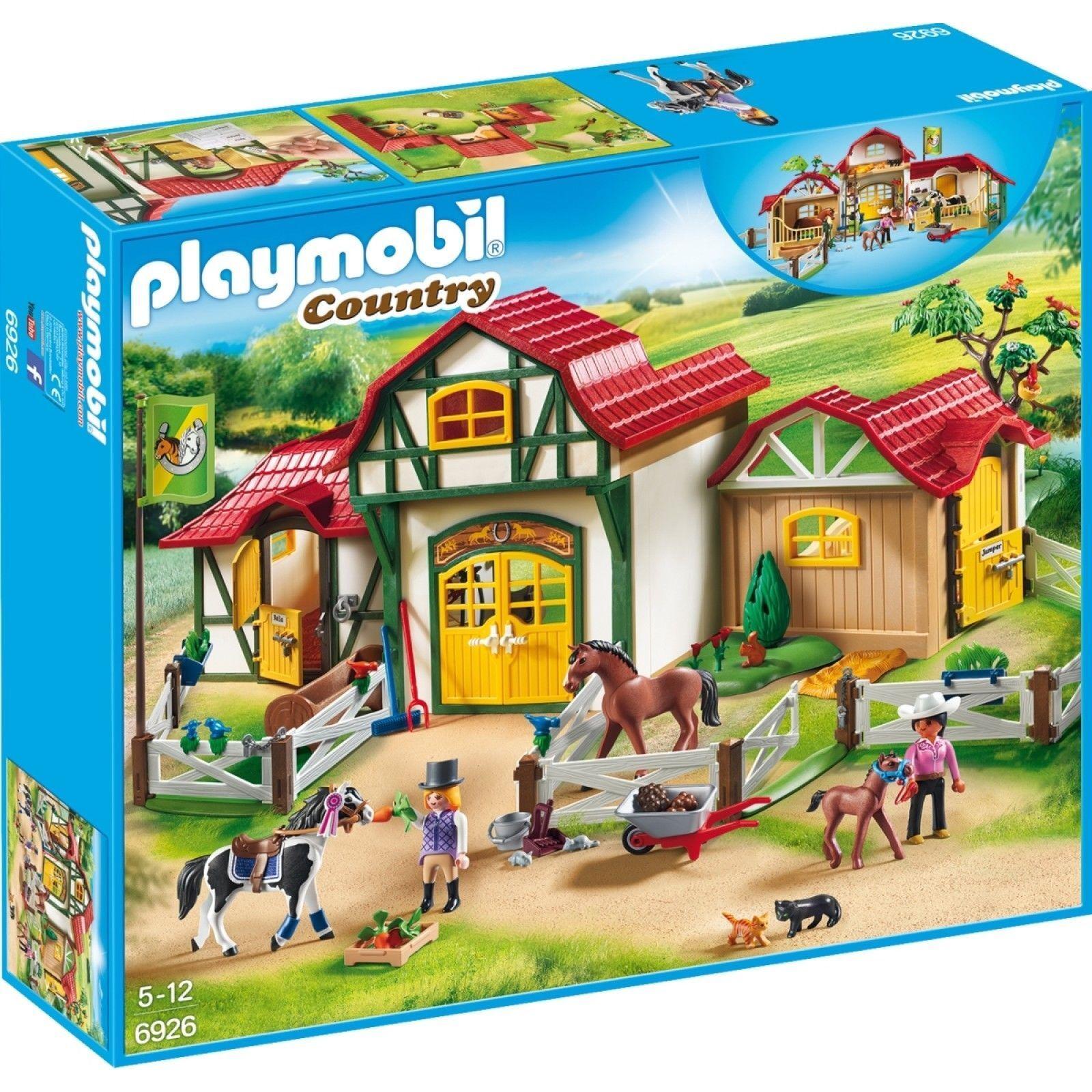 PLAYMOBIL 6926 - großer Reiterhof