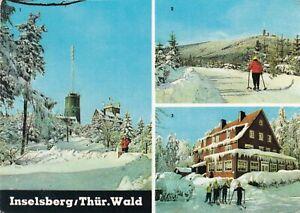 Inselsberg-Thuer-Wald-Ansichtskarte-19-gelaufen