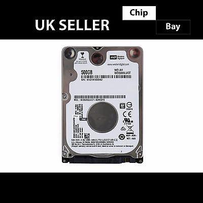 Genuine Slim WD 500GB Hard Drive HDD SATA II 5400rpm WD5000LUCT