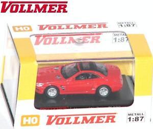 Vollmer-Cars-H0-41640-Mercedes-Benz-500-SL-2012-rot-NEU-OVP