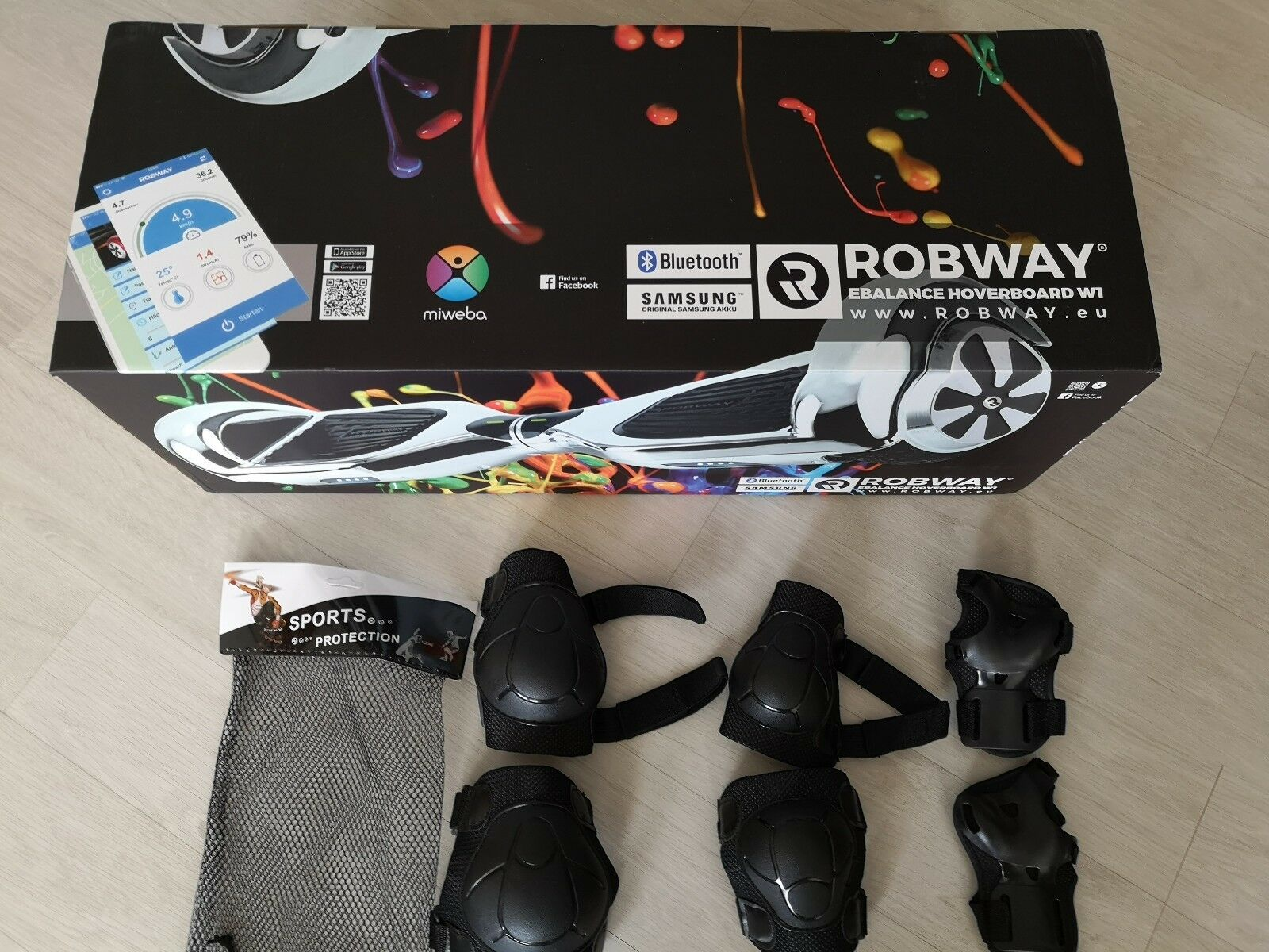 Overboard robway W1 W1 robway E-balance scooter smart blutooth 776db4