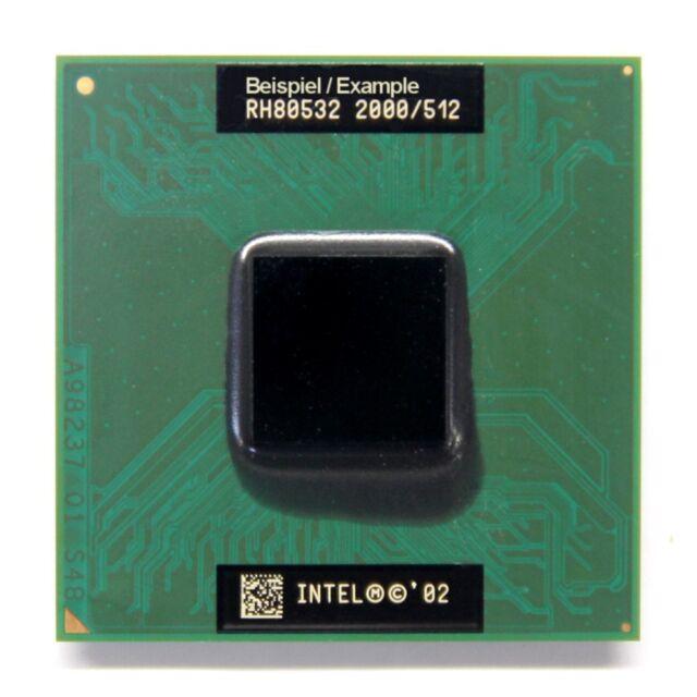 Intel Mobile Pentium 4-M SL6CH 1.7GHz/512KB/400MHz Socket/Socket 478 mPGA478B