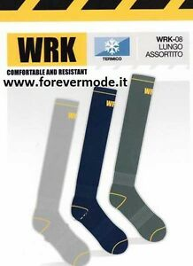 negozio outlet lotta 100% di alta qualità 3 Paia di Calzini calze uomo WRK lunghe in spugna anti ...