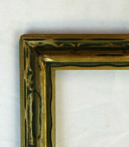 "ANTIQUE FITS 11"" X 14"" GOLD GILT ART DECO FINE ART PICTURE FRAME"