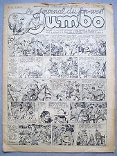 JUMBO / LE JOURNAL DU FAR WEST / N°32 DU 12-08-1939 / NOIR ET BLANC /LONE RANGER