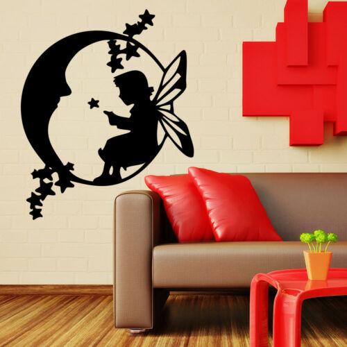 Wandtattoo Fee Mond Moon Fairy Kind Sweet Süß 137+