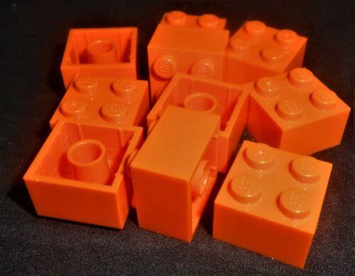 LEGO 2x2 Bricks Orange---Lot of 10