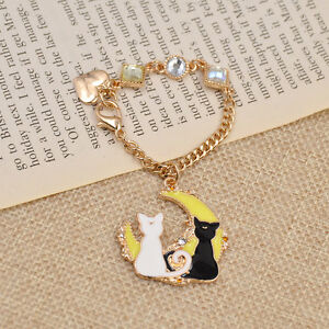 Cute-Luna-Pendant-Saillor-Moon-Bag-Accessories-Key-Ring-Keychain-Charms-Gift
