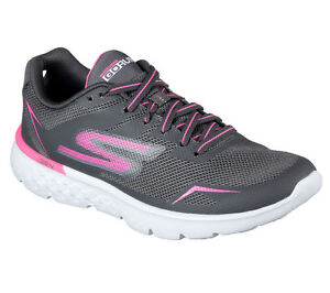 New Skechers Performance Go Run 400 Womens shoes Size 8.5 9 Black White 14350