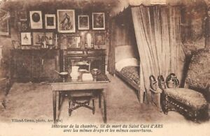 Bed-of-Death-of-the-Saint-Cure-D-039-Ars-inside-of-La-Chamber