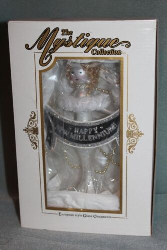 The Mystique Collection Happy New Millennium KURT ADLER Ornament