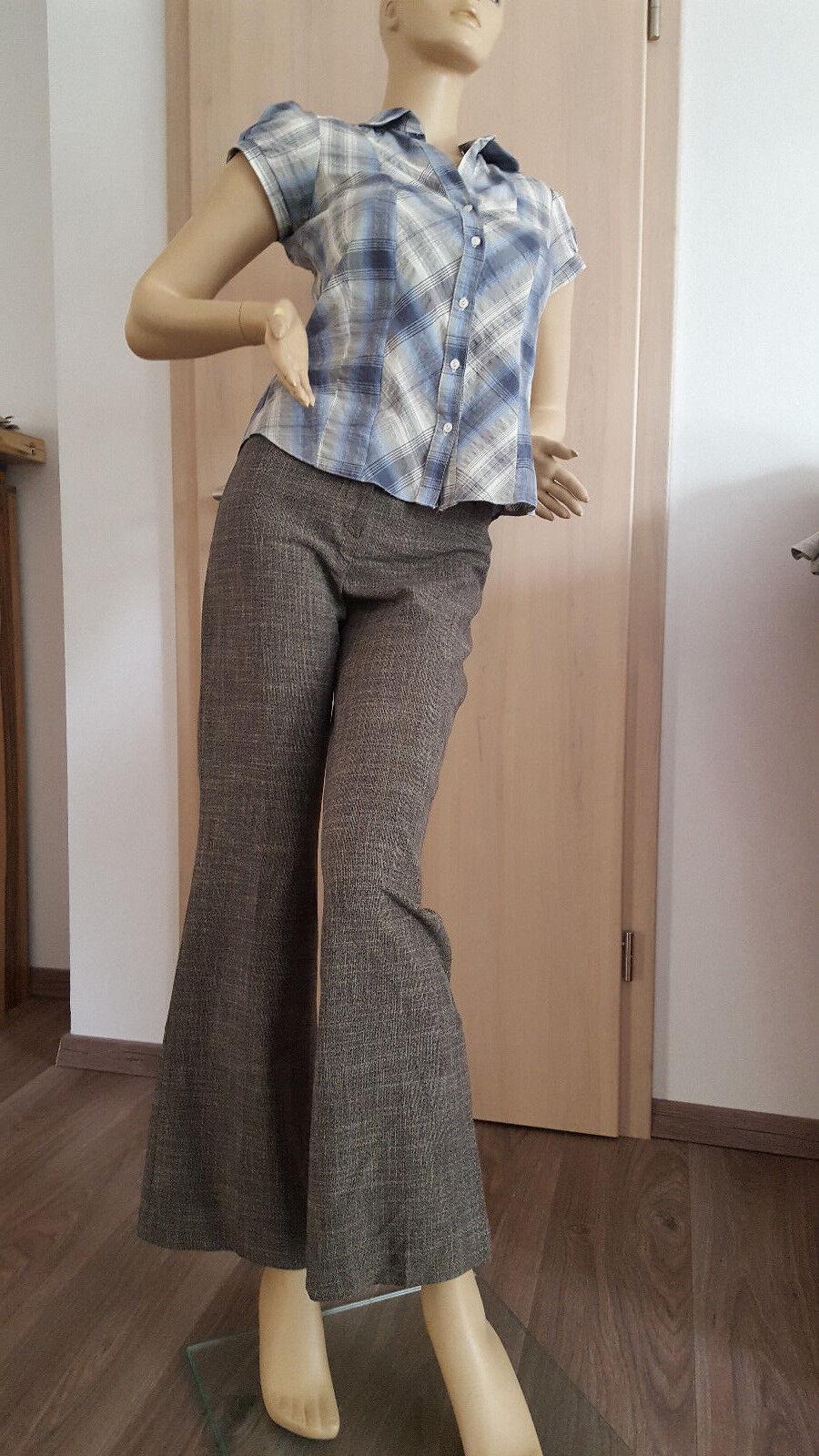 Damenhose von NEXT, schwarz-grau, Gr. 36 38 (8R), aktuelle Kollektion. NEU