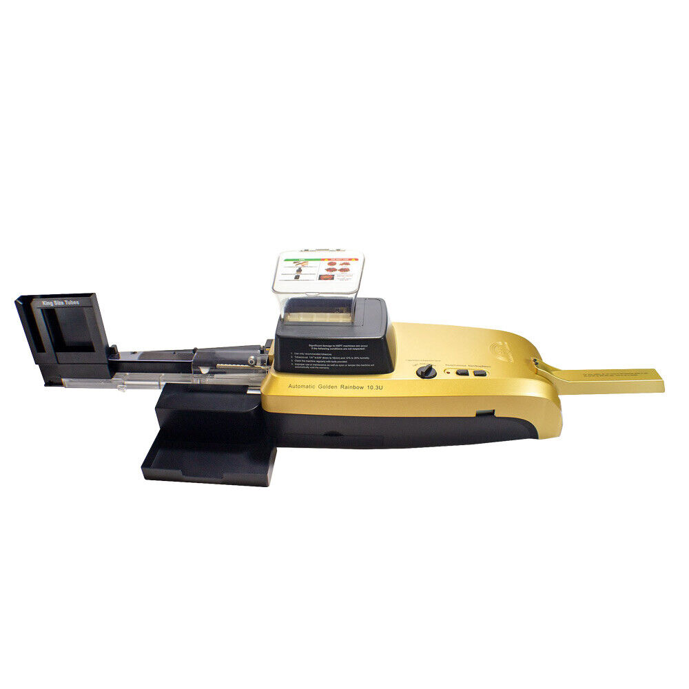 HSPT Golden Rainbow Cigarette Machine. Buy it now for 319.99