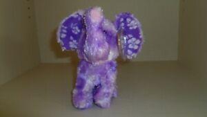 TY - BEANIE BABIES - COASTLINE the FUZZY PURPLE ELEPHANT