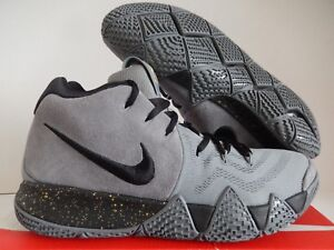 best website 9aea9 6f600 Details about NIKE KYRIE 4 ID COOL GREY-BLACK-GOLD SZ 12 [AR3867-991]