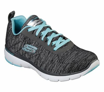 Skechers Sport Womens FLEX APPEAL 3.0 INSIDERS Sneakers Frauen Schwarz | eBay
