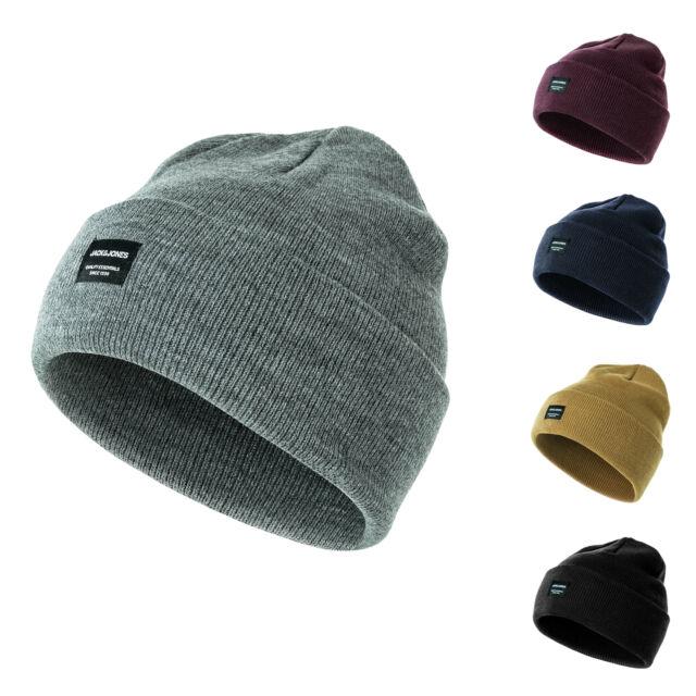 Online kaufen zu verkaufen zahlreich in der Vielfalt Jack & Jones Herren Beanie Strickmütze Wintermütze Wollmütze Casual  Streetwear