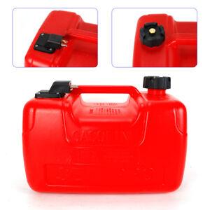 3.2 Gallon Portable Outboard Boat Marine Fuel Gas Tank Plastic Oil Tank 12L US