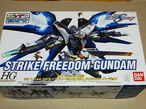 Gunpla EXPO Limite HG 1 144 Strike Freedom Gundam Clear color Ver. Plastic model