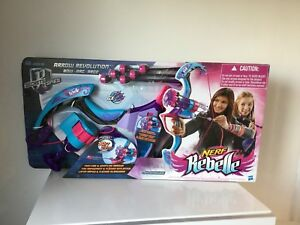 NERF Rebelle Secrets and Spies Arrow Revolution Bow Blaster  BRAND NEW - Purley, United Kingdom - NERF Rebelle Secrets and Spies Arrow Revolution Bow Blaster  BRAND NEW - Purley, United Kingdom