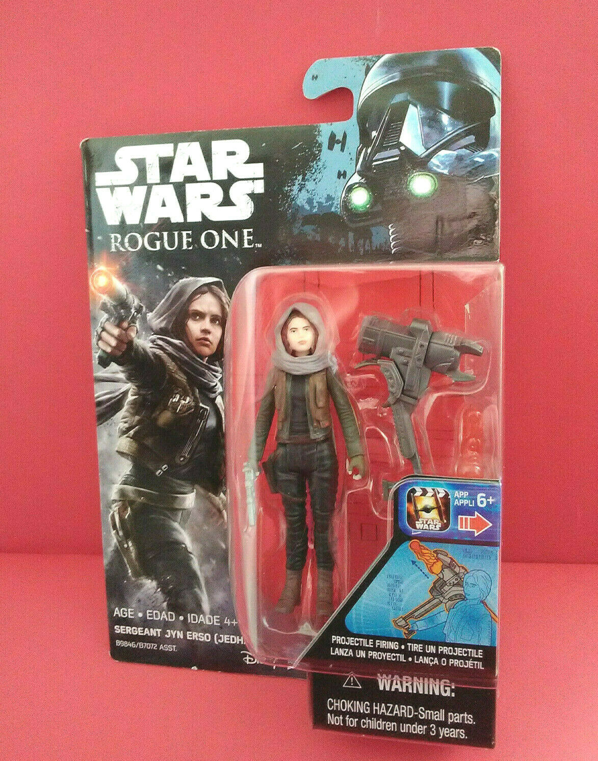StarWars collection : STAR WARS - SERGEANT JYN ERSO - ROGUE ONE - FIGURINE 10 CM - 2016 - R 5992