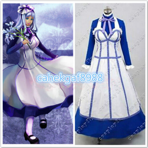 Details about  /Anime Black Butler II Hannah Annafellows Dress Cosplay Costume