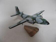 Transall C-160 Cargo France Airplane Desktop Wood Model