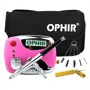 OHPIR 100V-240V Mini Air Compressor for Airbrushing Cosmetics Makeup